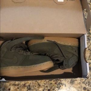 Toddler size Nike Air Force 1
